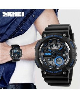 Αθλητικό ρολόι χειρός ανδρικό SKMEI 1235 BLUE
