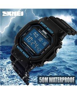 Αθλητικό ρολόι χειρός ανδρικό SKMEI 1134 Black