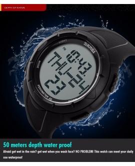 Αθλητικό ρολόι χειρός ανδρικό SKMEI 1122S BLACK