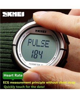 Αθλητικό ρολόι χειρός ανδρικό SKMEI HR 1058 BLACK