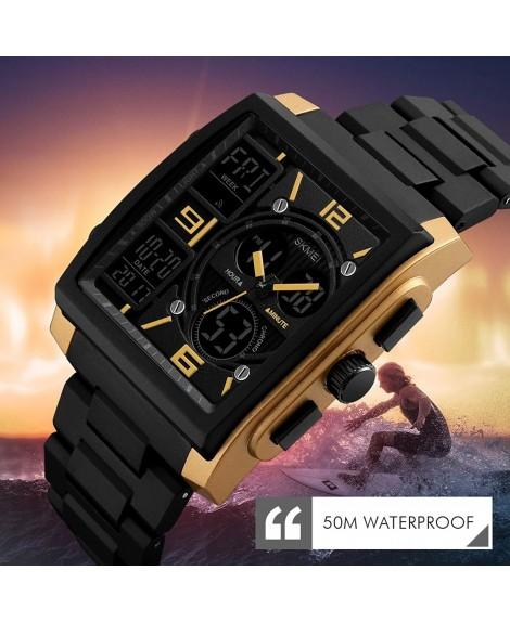 Ρολόι χειρός αδιάβροχο SKMEI 1274 BLACK-GOLD