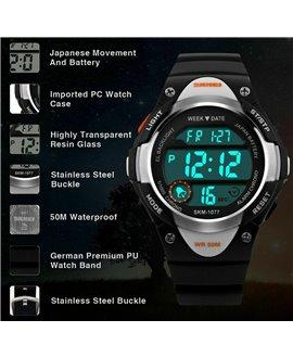 Ρολόι χειρός παιδικό SKMEI DG1077 BLACK