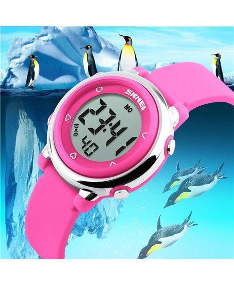 Ρολόι χειρός παιδικό SKMEI DG1100 PINK