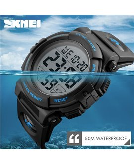 Ρολόι χειρός ανδρικό SKMEI 1258 BLUE