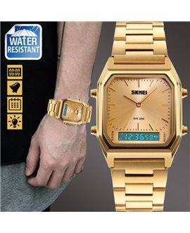 Ρολόι χειρός ανδρικό SKMEI 1220 GOLD