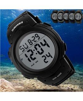 Αθλητικό ρολόι χειρός Skmei 1068 Black