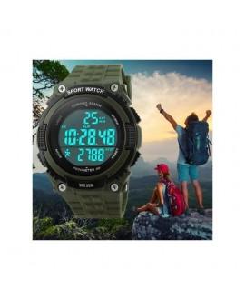 Αθλητικό ρολόι χειρός ανδρικό SKMEI 1112S GREEN με βηματομετρητή