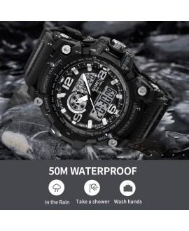 Αθλητικό ρολόι χειρός ανδρικό SKMEI 1283 black