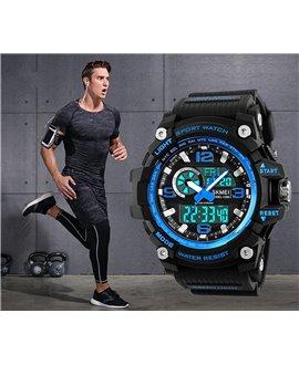 Αθλητικό ρολόι χειρός ανδρικό SKMEI 1283 BLUE