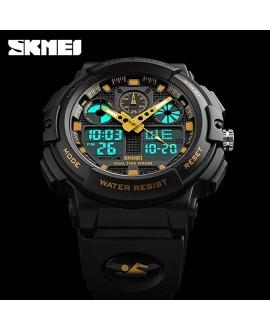 Ρολόι χειρός ανδρικό SKMEI 1270 BLACK WITH GOLD