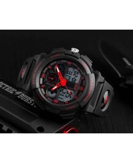 Ρολόι χειρός ανδρικό SKMEI 1270 BLACK WITH RED