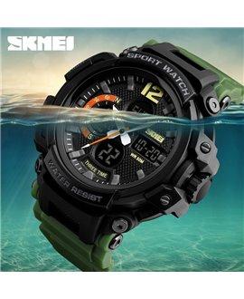 Ρολόι χειρός ανδρικό SKMEI SKMEI 1343 ARMY GREEN