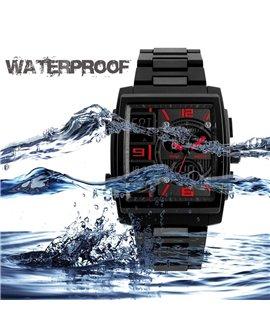 Ρολόι χειρός αδιάβροχο SKMEI 1274 BLACK WITH RED