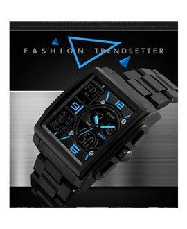 Ρολόι χειρός αδιάβροχο SKMEI 1274 BLACK WITH BLUE