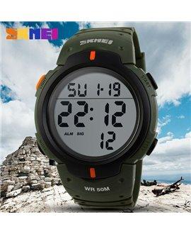 Αθλητικό ρολόι χειρός SKMEI 1068 GREEN WITH RED