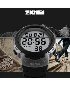 Αθλητικό ρολόι χειρός SKMEI 1068 GREY WITH BLACK