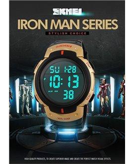 Αθλητικό ρολόι χειρός SKMEI 1068 GOLD WITH RED