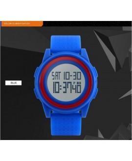 Αθλητικό ρολόι χειρός ανδρικό SKMEI 1206 BLUE WITH RED