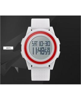 Αθλητικό ρολόι χειρός ανδρικό SKMEI 1206 WHITE WITH RED