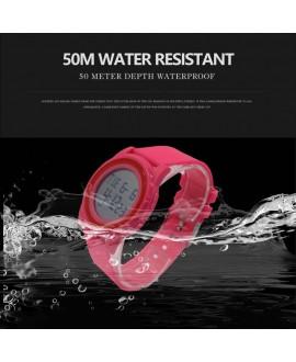 Αθλητικό ρολόι χειρός γυναικείο SKMEI 1206 PINK WITH RED