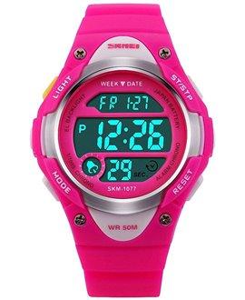Ρολόι χειρός παιδικό SKMEI DG1077 PINK