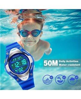 Ρολόι χειρός παιδικό SKMEI DG1077 BLUE