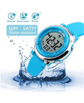 Ρολόι χειρός παιδικό SKMEI DG1100 LIGHT BLUE