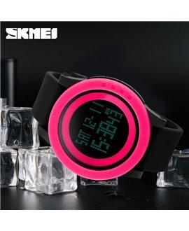 Αθλητικό ρολόι χειρός παιδικο SKMEI 1193 BLACK WITH RED