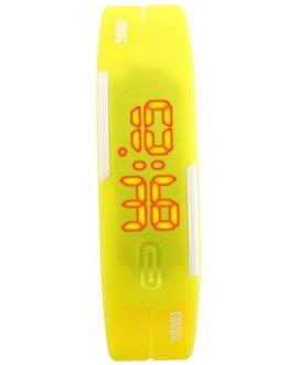 Αθλητικό ρολόι χειρός γυναικείο SKMEI 1099 YELLOW
