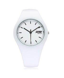 Ρολόι χειρός γυναικείο SKMEI 9068 WHITE