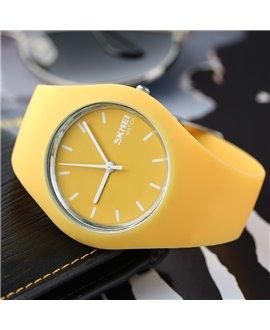 Ρολόι χειρός γυναικείο SKMEI 9068 YELLOW