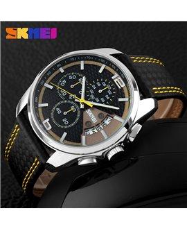 Ρολόι χειρός ανδρικό SKMEI 9106 YELLOW