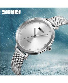 Ρολόι χειρός γυναικείο SKMEI 1291 SILVER
