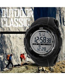 Αθλητικό ρολόι χειρός ανδρικό SKMEI 1025 BLACK