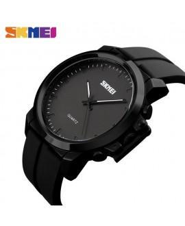 Ρολόι χειρός ανδρικό SKMEI 1208 BLACK WITH BLACK