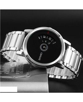 Ρολόι χειρός ανδρικό SKMEI 1260 SILVER WITH BLACK