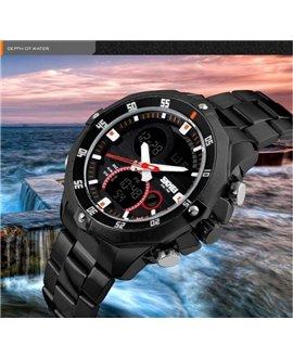 Ρολόι χειρός ανδρικό SKMEI 1146 BLACK