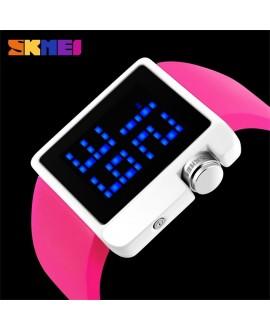 Ρολόι χειρός unisex αφής SKMEI 1145 PINK