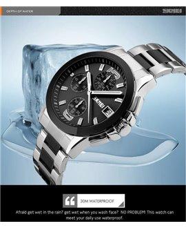 Ρολόι χειρός ανδρικό SKMEI 9126 BLACK