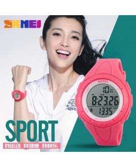 Ρολόι με βηματομετρητή χειρός γυναικείο SKMEI 1108 PINK