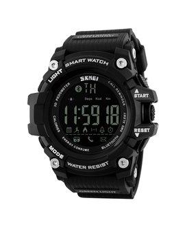 Ρολόι με βηματομετρητή χειρός ανδρικό SKMEI 1227 BLACK