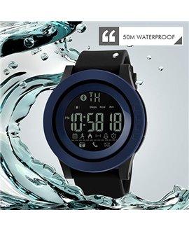 Ρολόι με βηματομετρητή χειρός ανδρικό SKMEI 1255 BLUE
