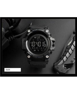 Ρολόι με βηματομετρητή χειρός ανδρικό SKMEI 1385 BLACK