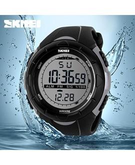 Αθλητικό ρολόι χειρός ανδρικό SKMEI 1074 TITANIUM