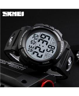 Αθλητικό ρολόι χειρός παιδικό SKMEI 1266 BLACK