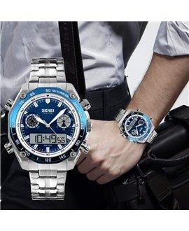 Ρολόι χειρός ανδρικό SKMEI 1204 BLUE
