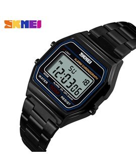 Ρολόι χειρός ανδρικό SKMEI 1123 BLACK
