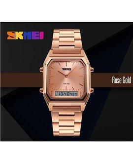 Ρολόι χειρός ανδρικό SKMEI 1220 ROSE GOLD