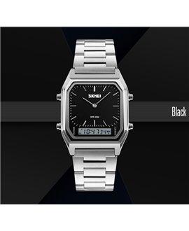 Ρολόι χειρός ανδρικό SKMEI 1220 SILVER/BLACK
