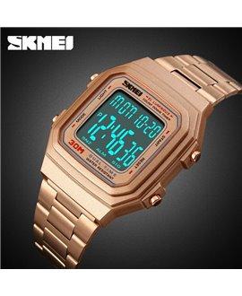 Ρολόι χειρός ανδρικό SKMEI 1337 ROSE GOLD